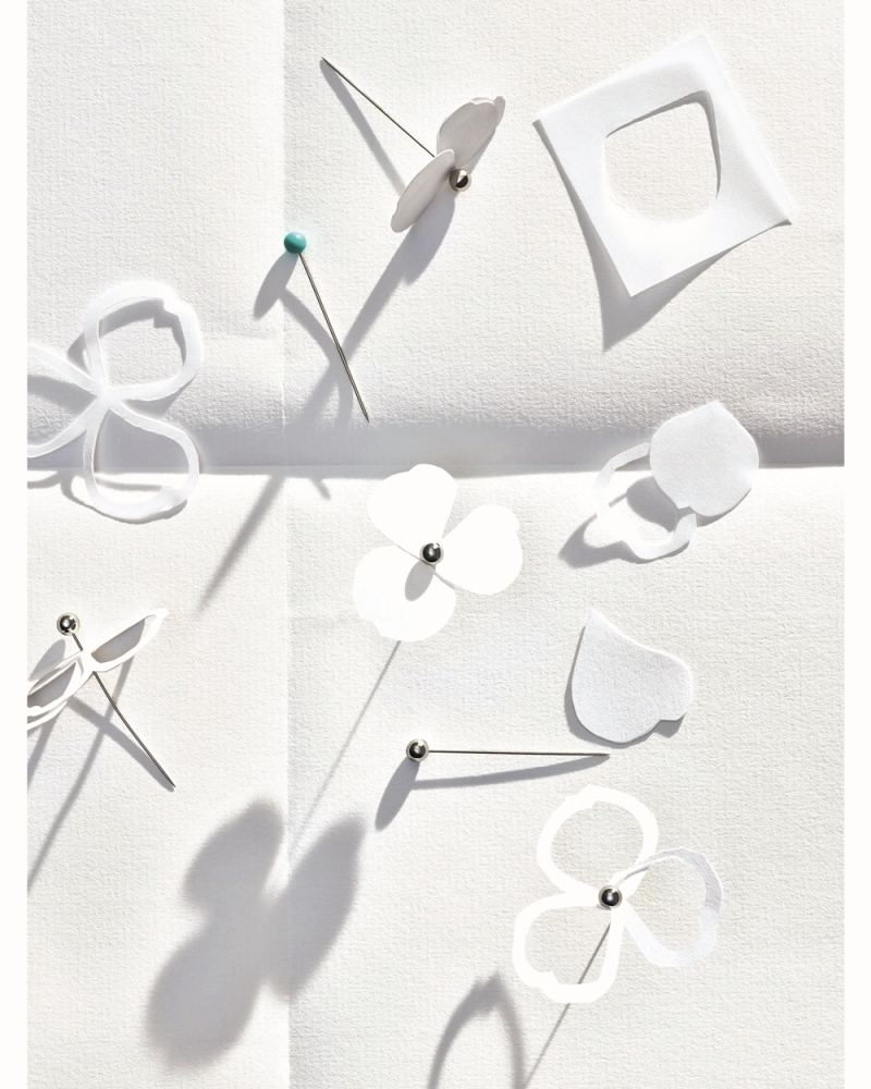 Tiffany Paper Flowers 系列 - 工藝圖