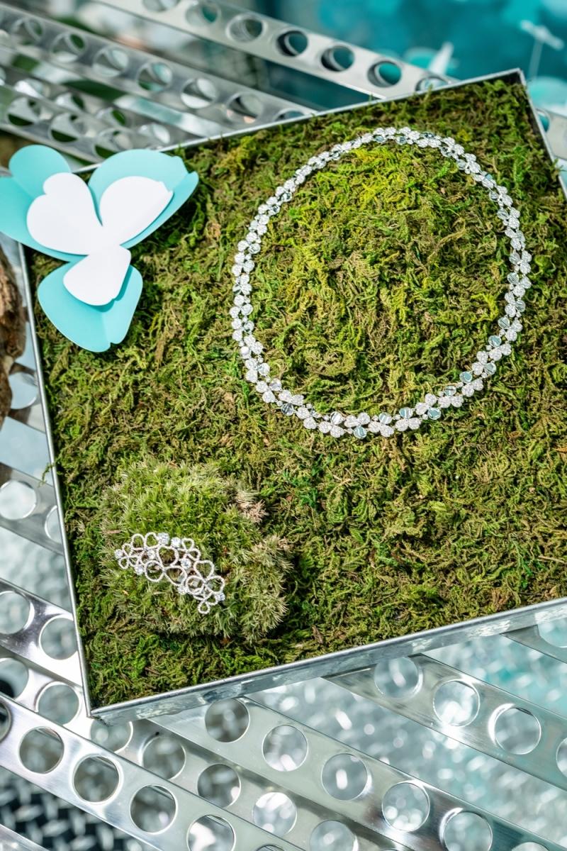 Tiffany Paper Flowers 高級珠寶系列媒體預覽會