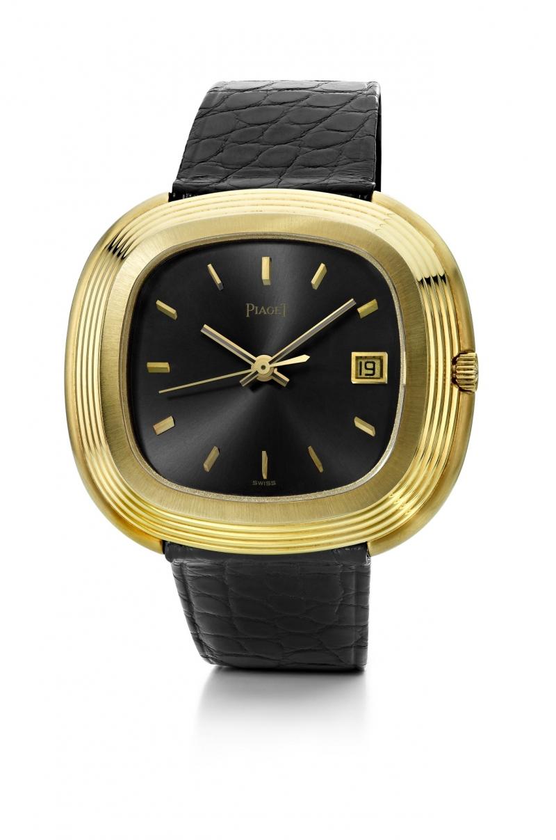 安迪沃荷所摯愛的一只伯爵腕錶