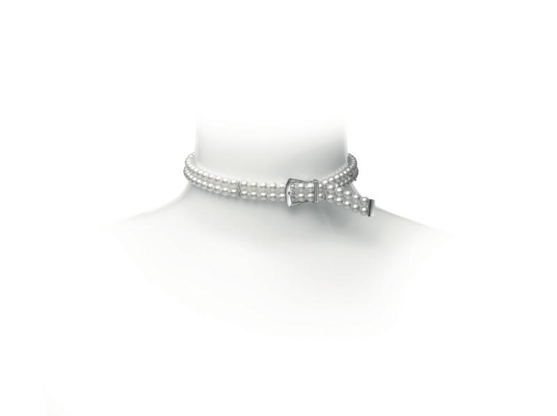 MIKIMOTO Boucle Précieuse 日本Akoya珍珠鑽石手鍊
