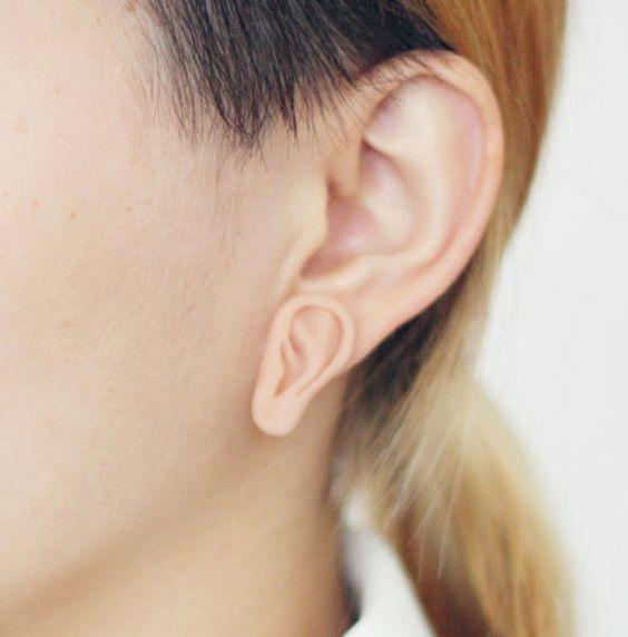 <disORGANisd>耳朵造型耳環