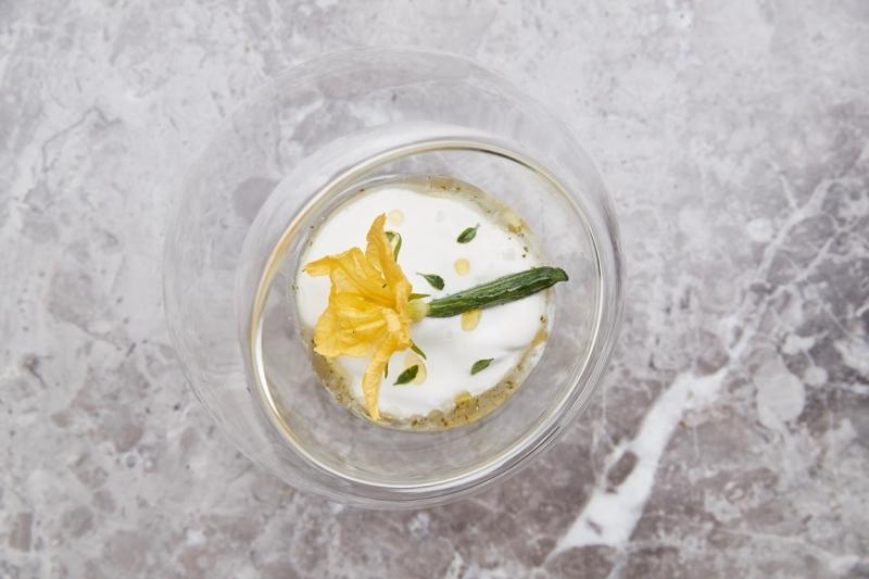 蘭餐廳 小黃瓜鮮奶油