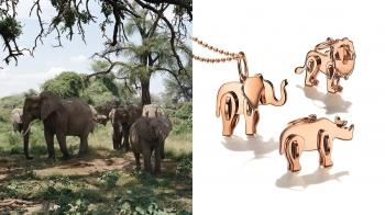 跟著Tiffany & Co. 最新Save The Wild系列珠寶一起愛動物!