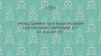 【Live】線上看!TOD'S 2019春夏時裝大秀,將在9/21下午3點半登場