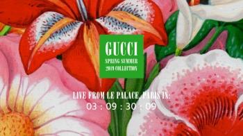 【Live】線上看!Gucci 2019春夏時裝大秀,將在9/25凌晨1點半登場