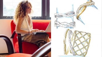 Hearts On Fire設計師Ilaria Lanzoni:女人真的激勵了我很多!不僅因為她們配戴著我設計的珠寶,不同的珠寶搭配也都代表了不同的生活態度。