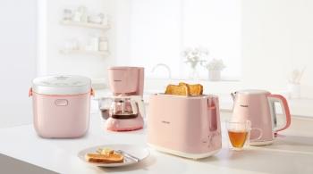 歡迎光臨史上最夢幻的粉色Party~飛利浦幫你的質感生活神助攻,讓甜而不膩的浪漫成為少女們的時尚ICON!