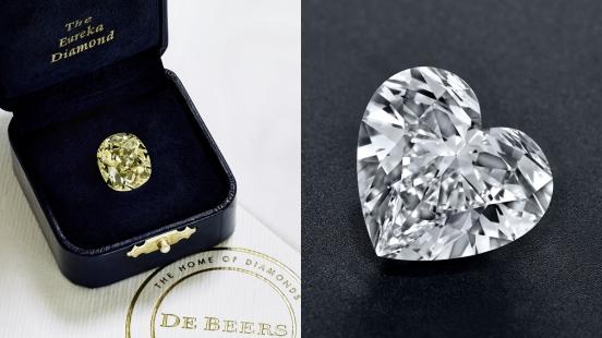 【珠寶小學堂】史上首顆於南非開採的鑽石、金伯利岩鑽石原石…總價逾台幣13億元De Beers鑽石珠寶展的必看重點!