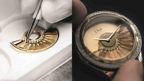 【鐘錶小學堂】靈感來自高級訂製服裙擺!Dior Grand Bal系列腕錶的絕美面盤設計,原來藏有這項秘密技術…
