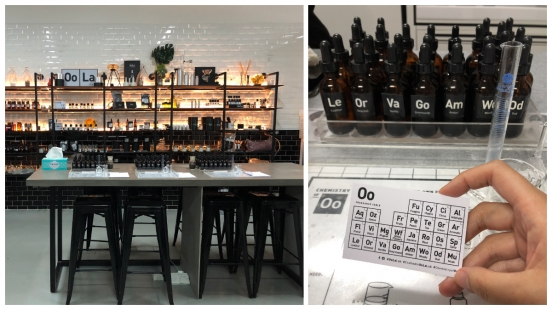新加坡私房好去處!Oola Lab香氛實驗室,讓你化身調香師,親手調配專屬香氛