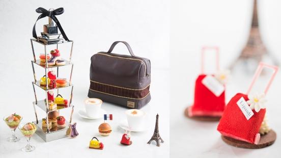 把包包縮小成甜點也太可愛!遠東大飯店攜手Lipault X Jean Paul Gaultier推出法式時尚下午茶