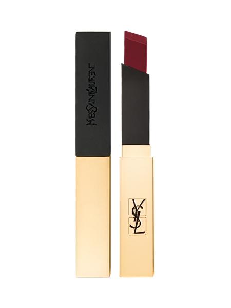 YSL奢華緞面絲絨唇膏(#5緋比尋常)4.5g,NT1,350
