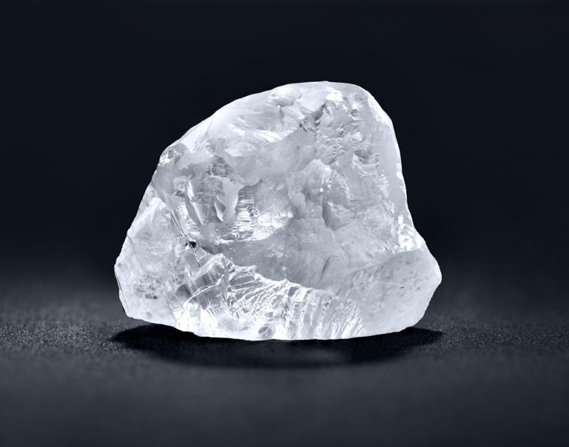 5.60克拉心形車工鑽石_從天然原鑽到拋光美鑽紀錄照片 Stage 1