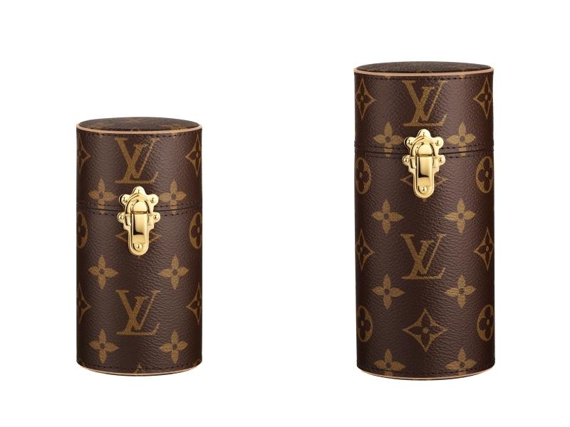 Louis Vuitton Monogram帆布旅行裝香水盒100ml,NT1,3600、200ml,NT 16,500