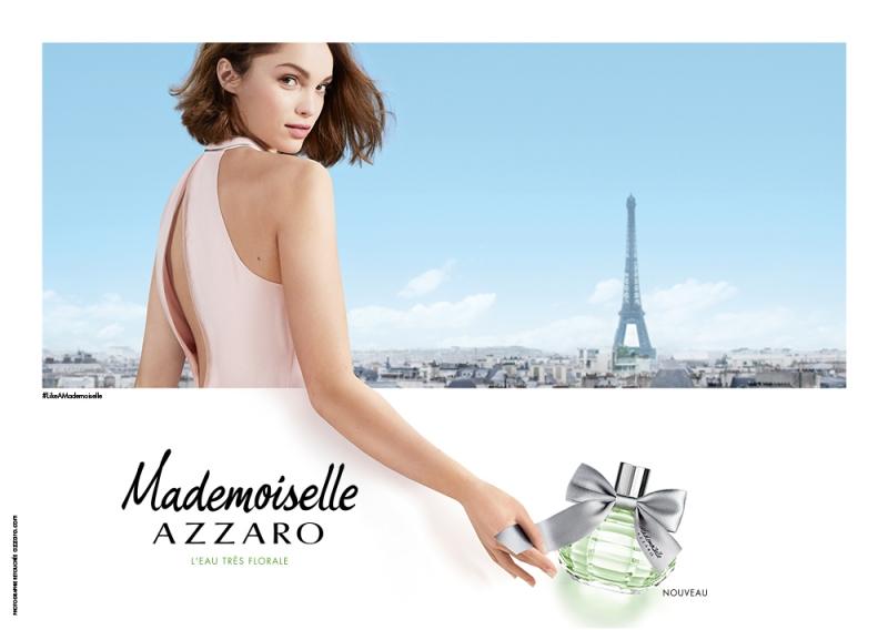 AZZARO綠意晶采女性淡香水形象圖