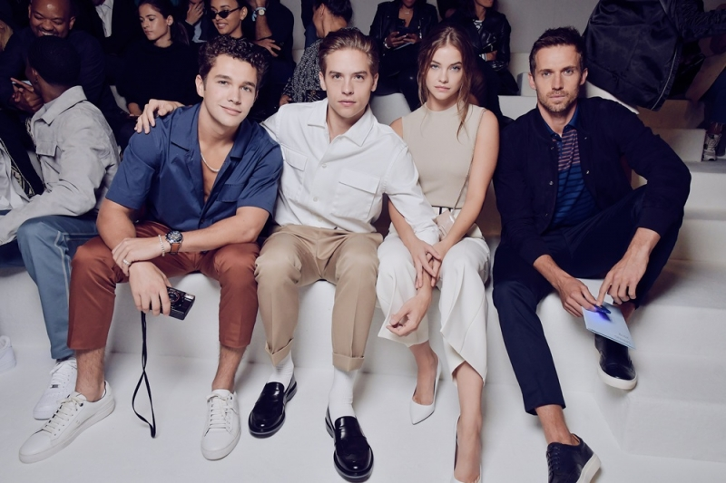 Austin Mahone、Dylan Sprouse、Barbara Palvin、Andrew Cooper