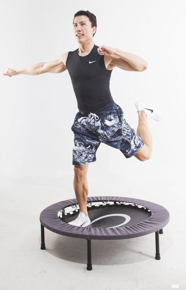 彈跳床有氧(Force Fitness 運動空間提供)