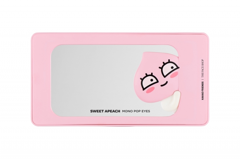 THE FACE SHOP甜桃果汁眼頰盤(#01)9.8g,NT850