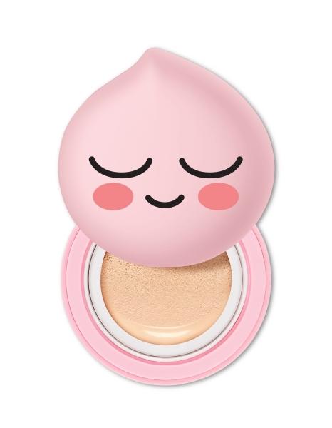 THE FACE SHOP甜桃氣墊粉餅組(含甜桃氣墊粉餅盒+氣墊補充盒),NT850~ NT980