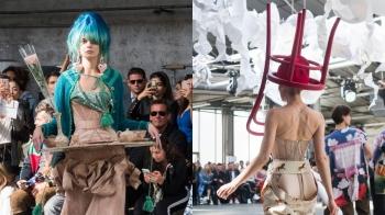 模特兒溜滑板走秀、頭戴椅子帽登場!Andreas Kronthaler for Vivienne Westwood春夏大秀靈感解析