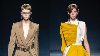 超搶眼鑽飾眼鏡、男模戴上大耳環… Givenchy春夏打造宛如照鏡子般的無性別大秀