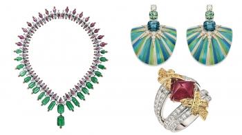 【編輯帶路】盤點10件鮮豔撞色珠寶,戴上它你就是最亮眼的一道風景!