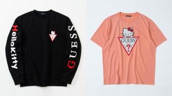 凱蒂貓迷們又要尖叫了!GUESS × Hello Kitty聯名限量系列超可愛單品一覽
