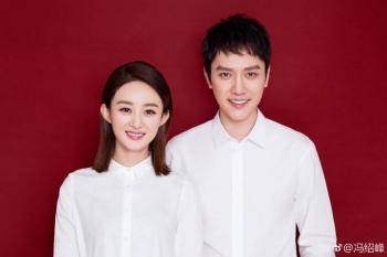「老婆,生日快樂!」趙麗穎真的嫁了,與馮紹峰宣布結婚甜蜜放閃
