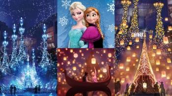 每年都要到東京「Caretta汐留」報到!2018 點燈迪士尼公主系列《冰雪奇緣》、《魔髮奇緣》都看得到!