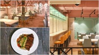 古典Tiffant綠、手繪風牆面!桃園統領開幕「樂尼尼義式餐廳」,獨家餐點這幾道必嚐