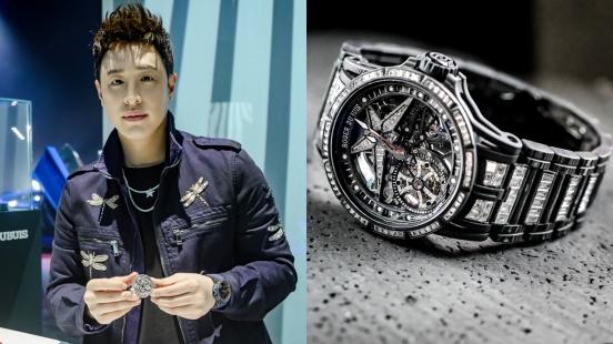 私下也是超級手錶控!潘瑋柏:我超愛錶,因為它是藝術品,每個細節都讓人忍不住一看再看!