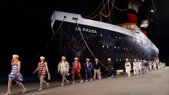 重現2019早春度假系列的磅礡氣勢,香奈兒La Pausa號航向曼谷!