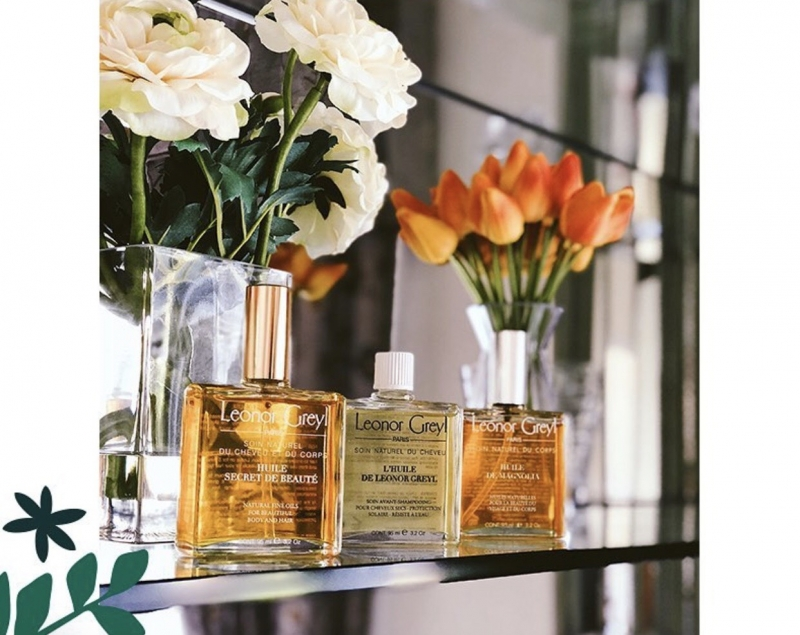 Leonor Greyl黎諾不只是頭髮保養沙龍,也頭樣在意臉部與身體養護,推出多支油保養明星產品