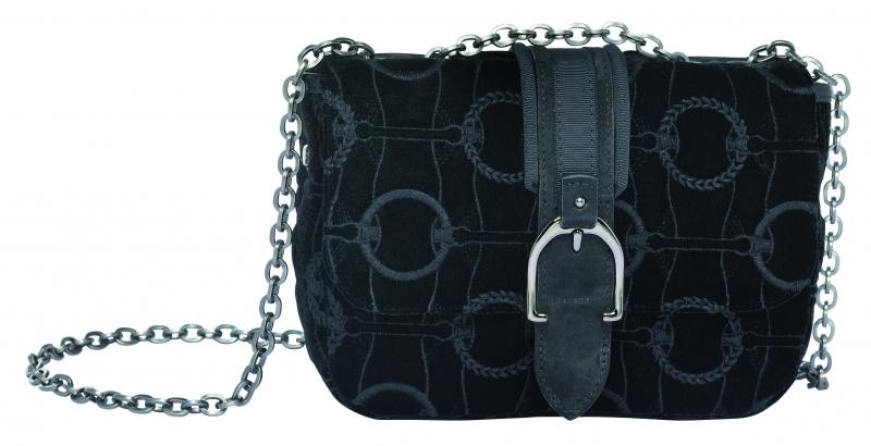 LongchampAmazone系列肩背包黑色,參考售價NT17,000。