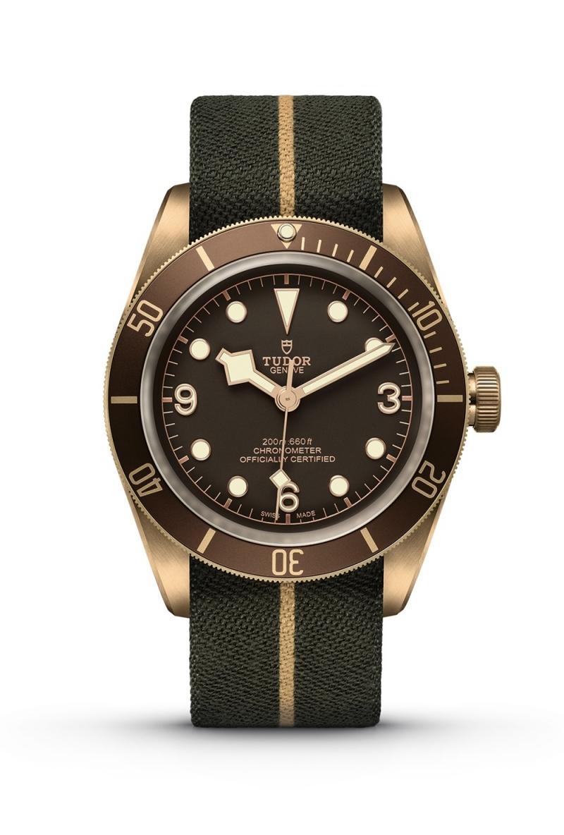 TUDOR Black Bay Bronze_大衛 ‧ 貝克漢佩戴款_ NT$116,000