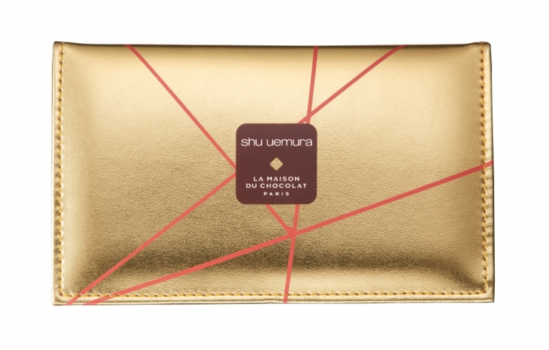 shu uemura植村秀2018梅森巧克力聖誕彩妝刷具組,NT2000