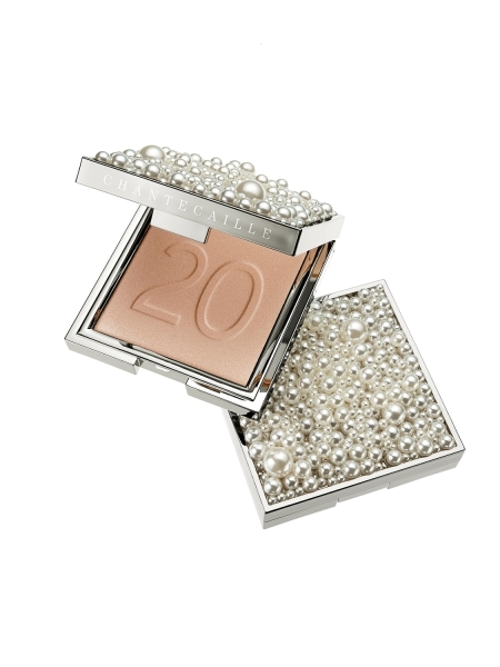 香緹卡Chantecaille2018聖誕彩妝珠寶盒蜜粉餅9g,NT4,600