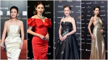 金馬55|徐若瑄、周迅、惠英紅、曾美慧孜、丁寧、黃嘉千、楊千霈,紅毯上女星們的妝容解密
