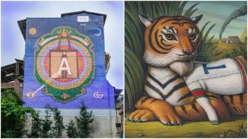 超強自拍點,Gucci 藝術牆,台北也找得到!
