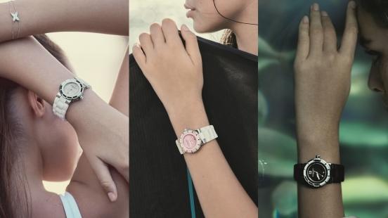 把法式優雅與隨性帶著走,Chaumet Class One系列腕錶推出黑白粉新色