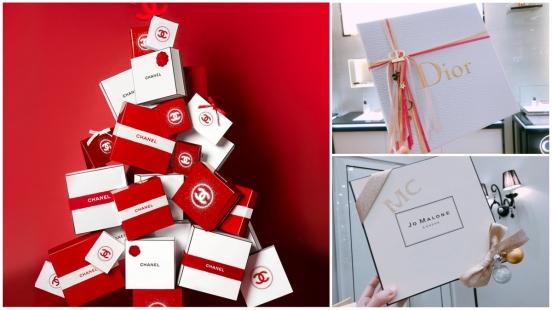 最夢幻聖誕禮物包裝集合!Dior幸運之星四色緞帶、香奈兒紅色禮物、Jo Malone London自選小吊飾與字母印章