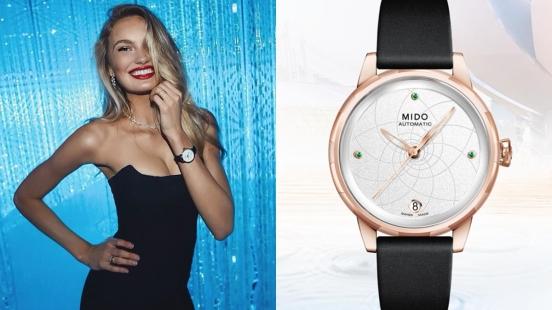 Mido美度表與維密天使Romee Strijd攜手設計,定義當代與未來的時髦女錶