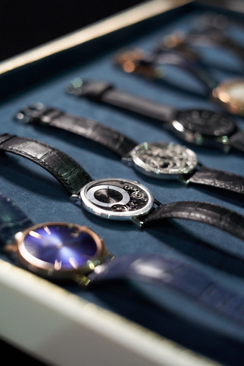 金馬55榮耀時刻拍攝花絮1_Piaget Altiplano watches(圖片來源:由Piaget 提供)
