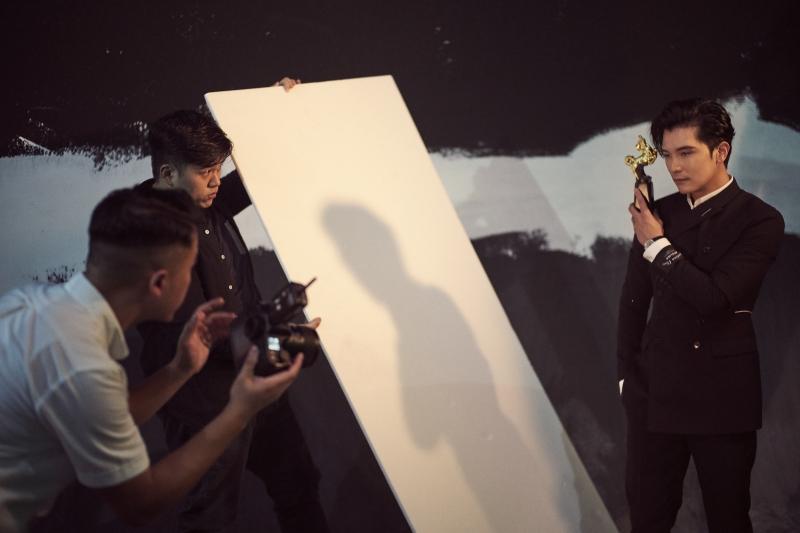 金馬55榮耀時刻拍攝花絮3_邱澤(圖片來源:由Piaget 提供)