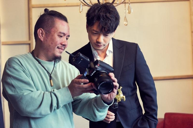 金馬55榮耀時刻拍攝花絮12_段奕宏(圖片來源:由Piaget 提供)