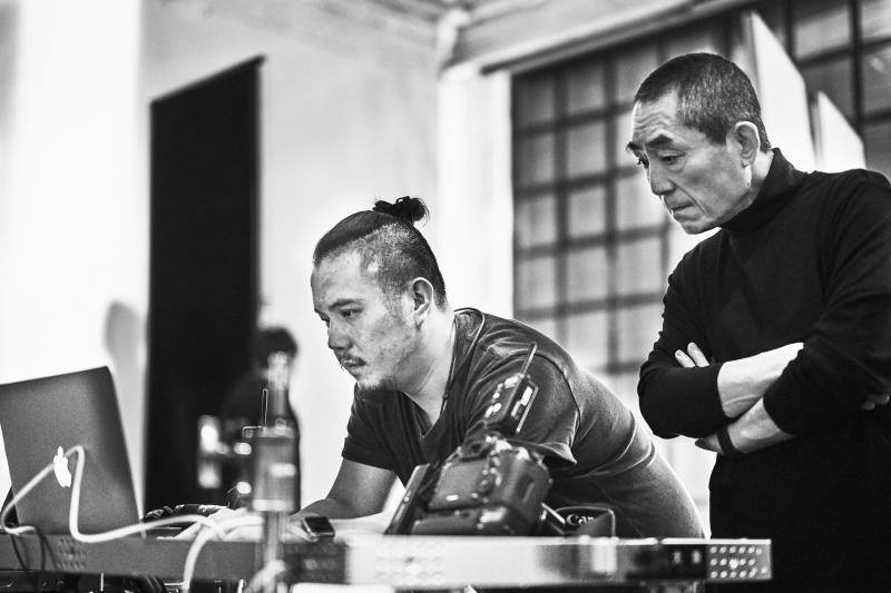 金馬55榮耀時刻拍攝花絮14_張藝謀(圖片來源:由Piaget 提供)