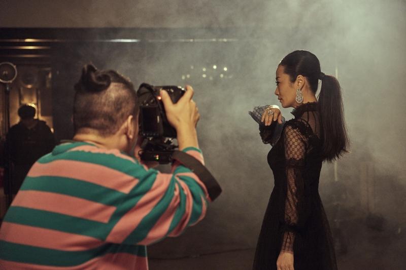 金馬55榮耀時刻拍攝花絮21_趙濤(圖片來源:由Piaget 提供)