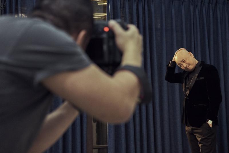 金馬55榮耀時刻拍攝花絮22_徐崢(圖片來源:由Piaget 提供)