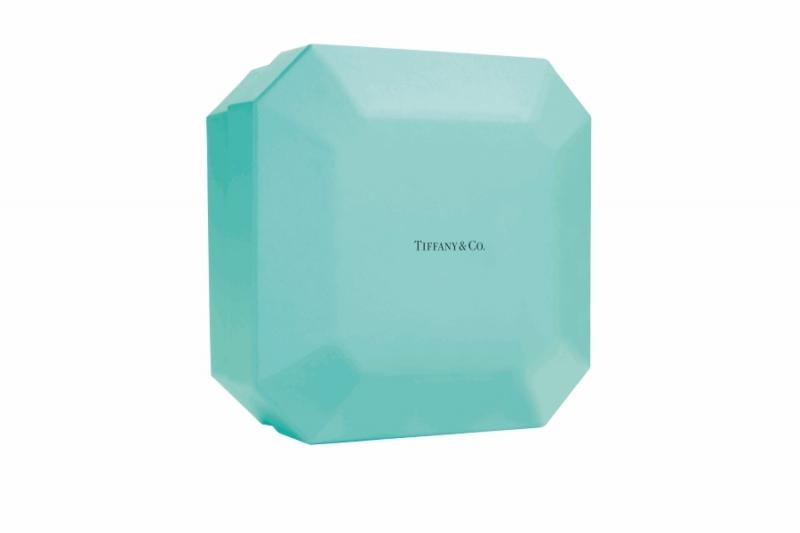 Tiffany & Co.同名淡香精鑽形豪華禮盒(同名淡香精75ml、同款造型小香水5ml、同款香氛身體乳100ml),NT5,200