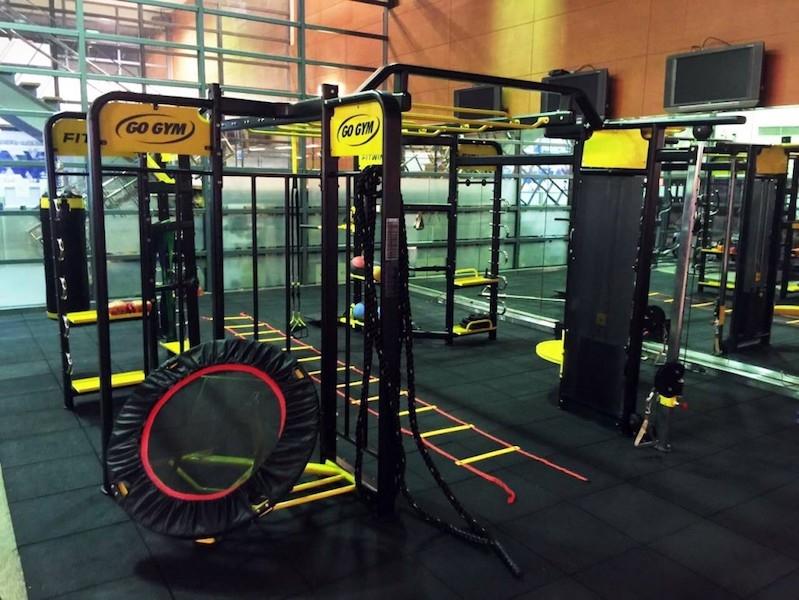 Go Gym健身俱樂部「間歇燃脂訓練課程」,設有360全功能訓練機